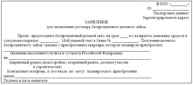 Регулирование договора займа